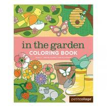 Petitcollage - Livre de Coloriage Jardin - Dès 3 ans