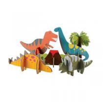 Petitcollage - Pop-Out Dinosaures 3D - Dès 3 ans