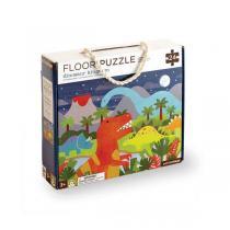 Petitcollage - Puzzle Dinosaures - Dès 3 ans