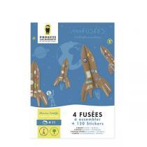 Pirouette cacahouete - Kit Mes fusées à créer