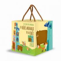 SASSI Junior - Cubes et livre Les bébés animaux de la Forêt - Dès 2 ans