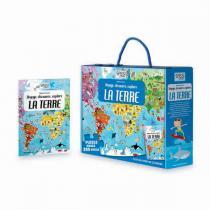 SASSI Junior - Livre et puzzle La Terre 2018 - Dès 6 ans