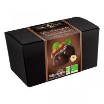 Saveurs & Nature - Ballotin d'escargots pralinés chocolat noir 140g