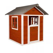 Sunny - Cabane Enfant Lodge Playhouse Scandicavian Rouge