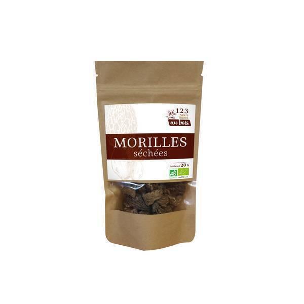 1,2,3 nous irons au bois - Morilles séchées 20g