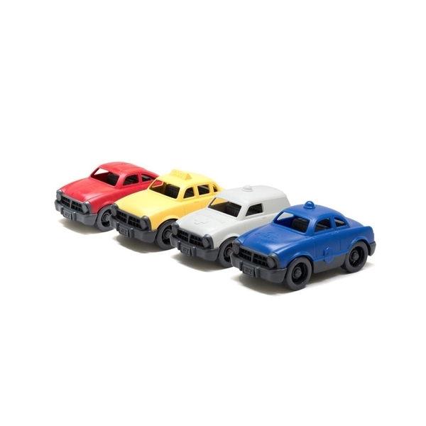 Green Toys - 4 Mini Vehicules - Des 3 ans