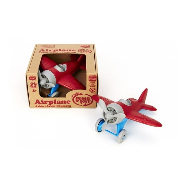 Green Toys - Avion Rouge - Des 1 an