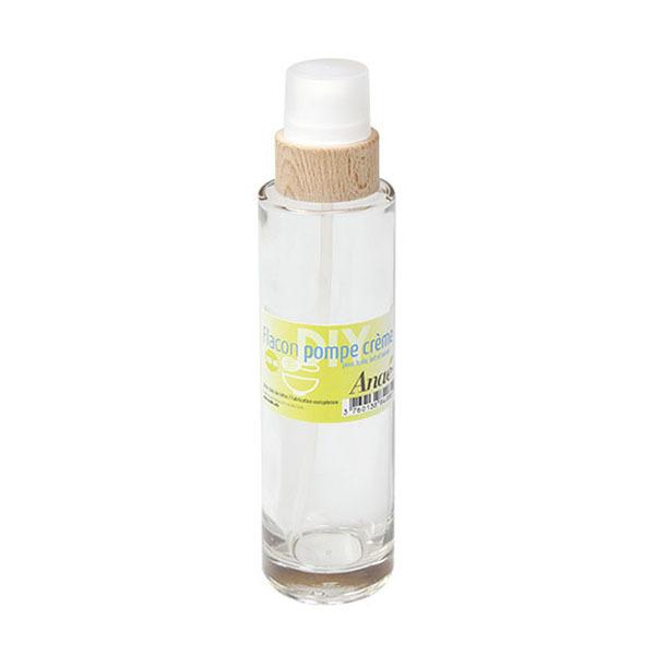Anaé - Flacon pompe crème en verre 200ml