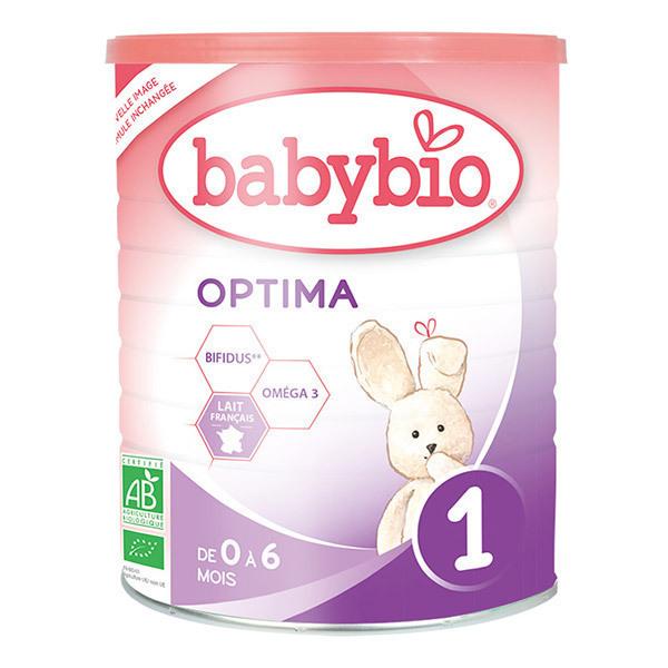 Babybio - Lot de 3 x Optima 1 lait pour nourrissons Bio 400g