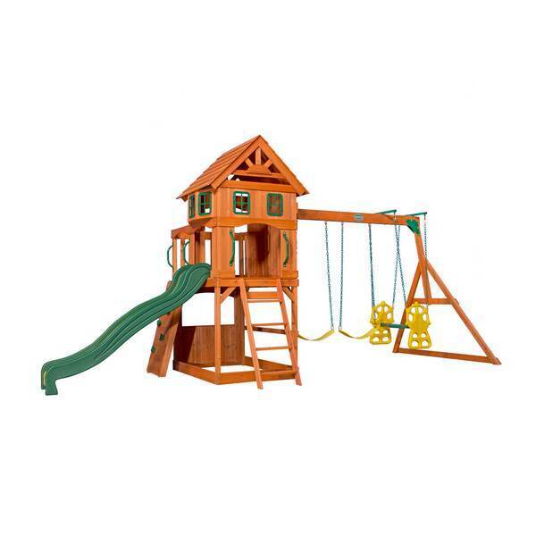 Backyard Discovery - Aire de jeu Enfant Atlantic Play Tower