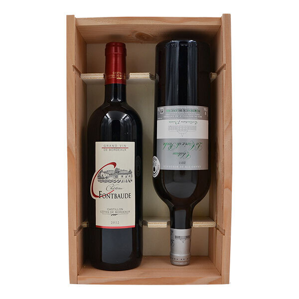 Sélection vins et apéritifs Bio - Coffret Châteaux Girondin