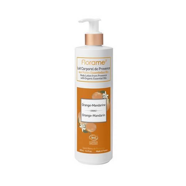 Florame - Lait corporel de Provence Orange mandarine 400ml