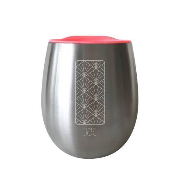 Gaspajoe - Gobelet isotherme Cosy en inox Art déco 25cl