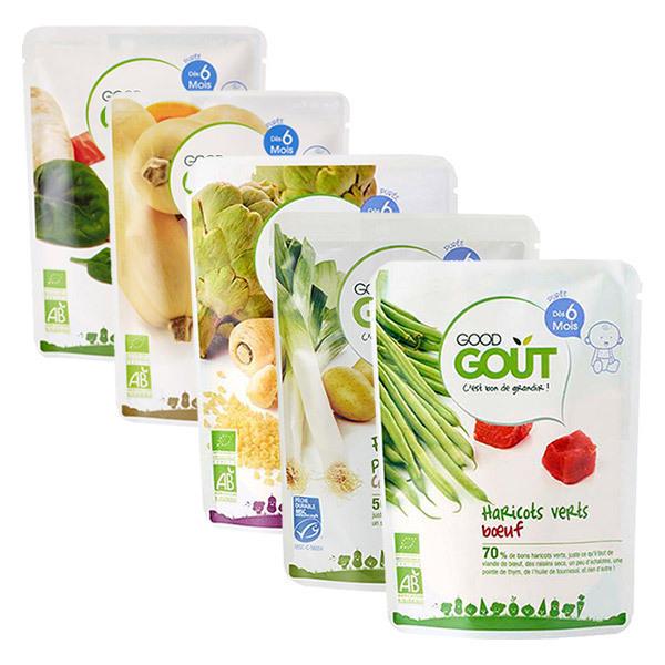 Good Gout - Pack Automne de petits plats dès 6 mois - 5 x 190g