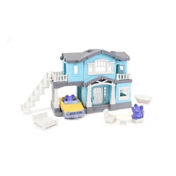 Green Toys - Coffret de jeu La maison - Dès 2 ans