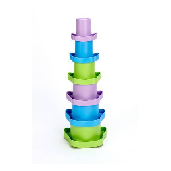 Green Toys - Tasses Empilables - Dès 6 mois