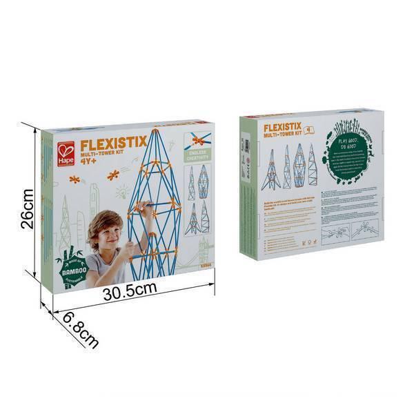 Hape - Kit multi-tours Flexistix - Dès 4 ans