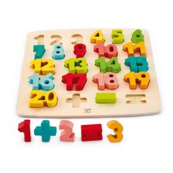 Hape - Puzzle premiers calculs - Dès 3 ans