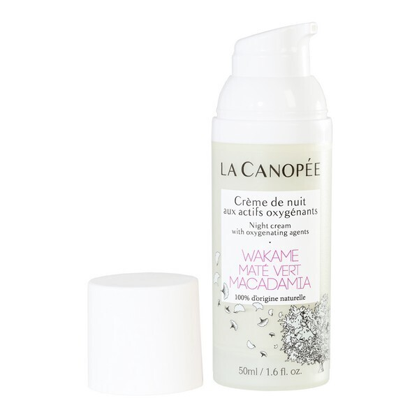 La Canopée - Crème de nuit aux actifs oxygénants 50ml