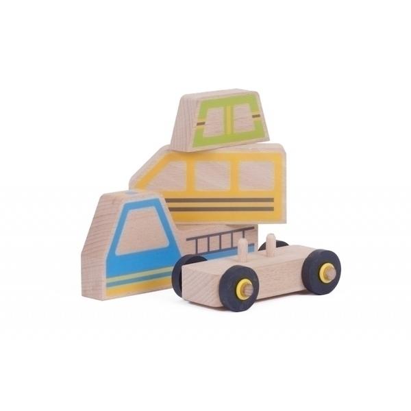 Les Jouets Libres - Kit Car véhicule modulaire