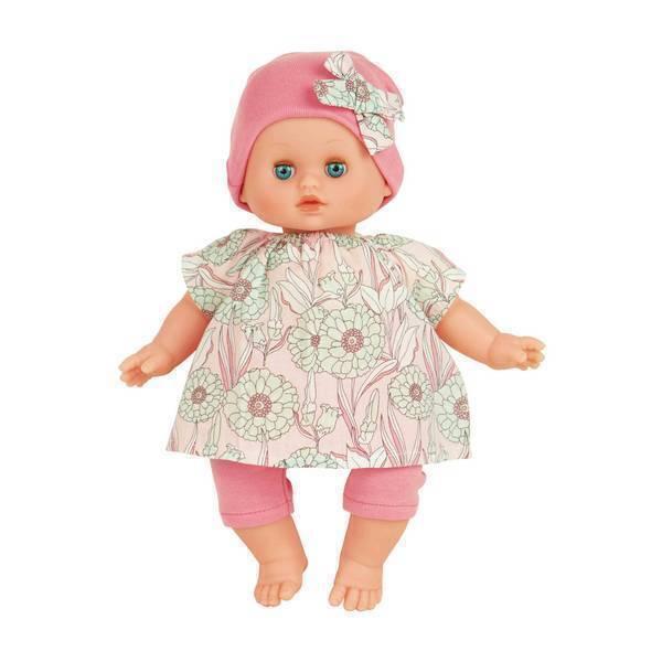 Petitcollin - Petit câlin Ecolo Doll Pivoine - Dès 10 mois