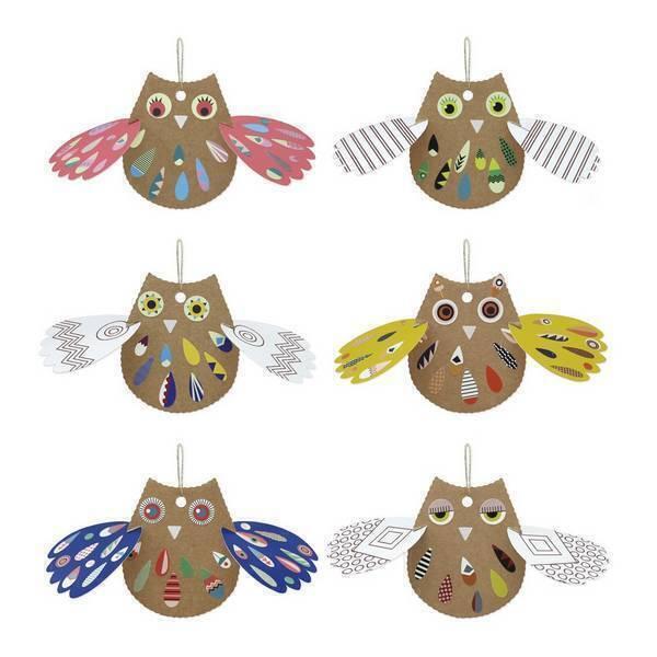 Pirouette cacahouete - Kit Mes Arty Chouettes à colorier - Dès 4 ans