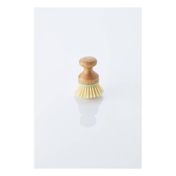 Point Virgule - Brosse à vaisselle en bambou 6,5cm