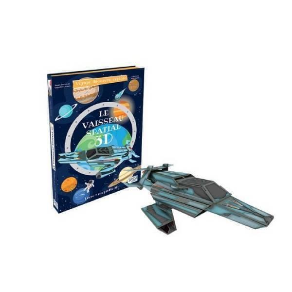 SASSI Junior - Livre et maquette Le vaisseau spatial 3D - Dès 6 ans