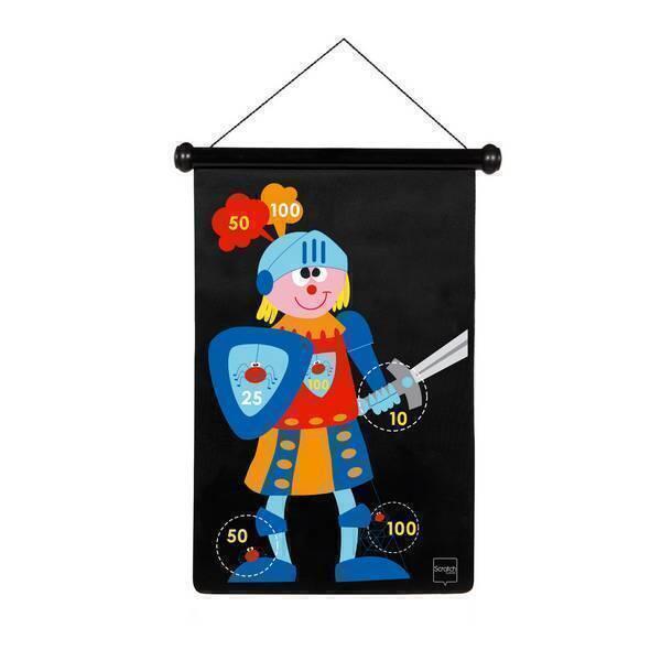 Scratch - Jeu de fléchettes Chevalier - Dès 5 ans
