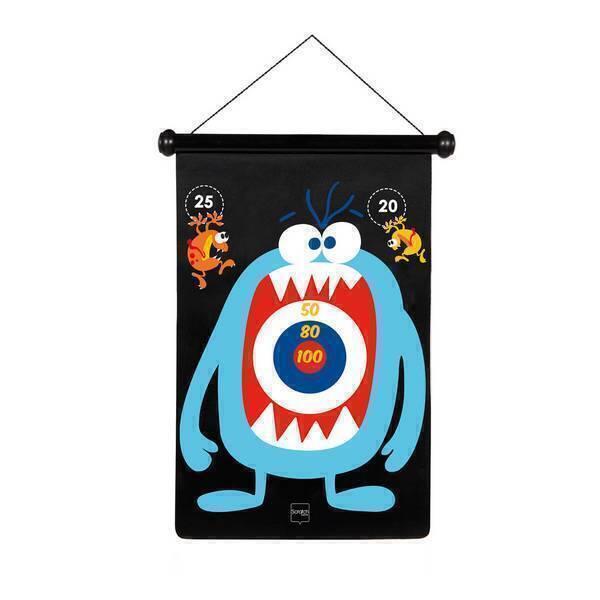Scratch - Jeu de Fléchettes Monstres - Dès 5 ans