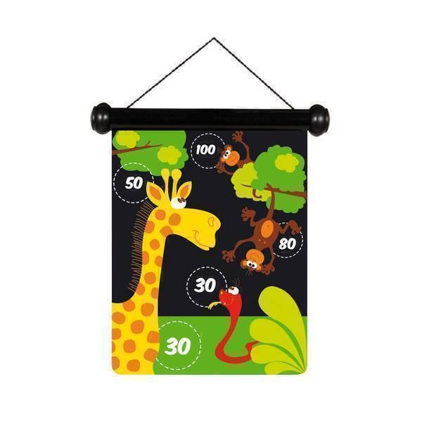 Scratch - Jeu de fléchettes Zoo - Dès 5 ans