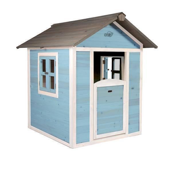 Sunny - Cabane Enfant Lodge Playhouse Caribean Bleu