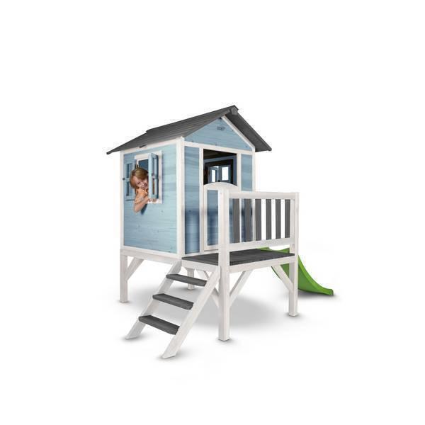Sunny - Cabane Enfant Lodge XL Playhouse Caribean Bleu