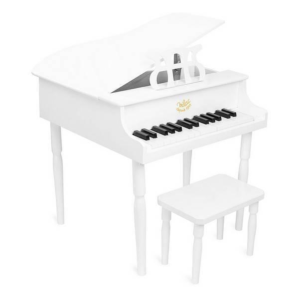 Vilac - Grand piano à queue blanc - Dès 3 ans