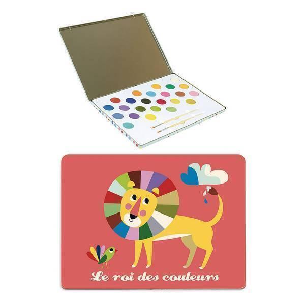 """Vilac - Peinture """"roi des couleurs"""" Ingela P.Arrhenius - Dès 4 ans"""
