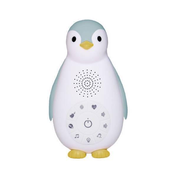 Zazu - Zoé le pingouin Boîte à musique bluetooth Bleu