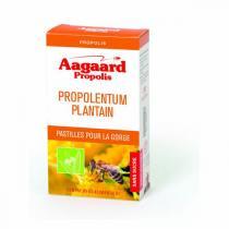 Aagaard Propolis - Propolentum plantain 30 pastilles