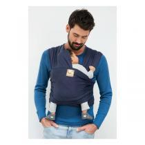 Babylonia Carriers - Écharpe de portage extensible Tricot-Slen Bleu Denim