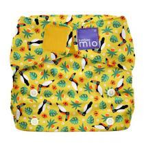Bambino Mio - Miosolo couche tout-en-un Toucan tropical - De 0 à 36 mois