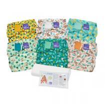 Bambino Mio - Miosolo pack 6 couches lavables Forêt tropicale - De 0 à 36 mois