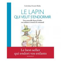 """Editions Marabout - Livre enfant """"Le lapin qui veut s'endormir"""""""