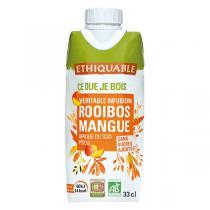 Ethiquable - Infusion glacée bio Rooibos-mangue 33 cl