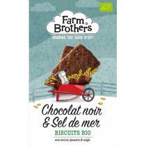 Farm Brothers - Biscuits chocolat noir & sel de mer 150g