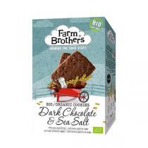 Farm Brothers - Cookies bio au chocolat noir et sel de mer 150 G