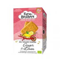 Farm Brothers - Cookies bio Gingembre citron 150 G