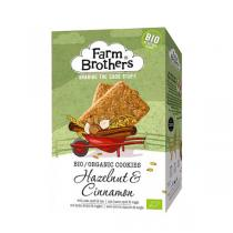 Farm Brothers - Cookies bio Noisette cannelle 150 G