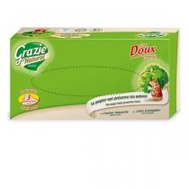 Grazie Natural - Boîte mouchoirs 80 feuilles 3 plis