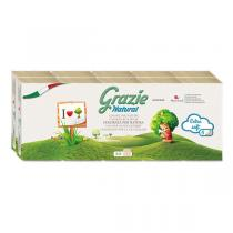 Grazie Natural - Pack 2 x 10 étuis mouchoirs 4 plis