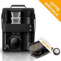 Handpresso - Pack Handpresso Pump Set noir et Etui porte-dose