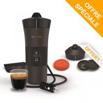 Handpresso - Pack Machine à café Handcoffee Auto 12V et Kit multi boisson